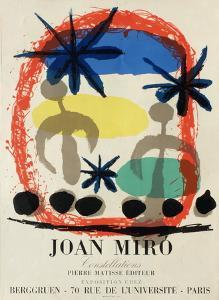 Expo 59 - Galerie Berggruen by Joan Miro