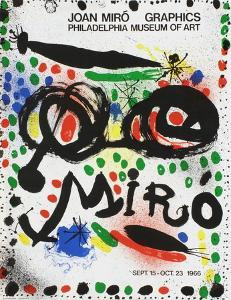 Expo 66 - Philadelphia Museum of Art by Joan Miro