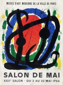 Expo 66 - Salon De Mai by Joan Miro