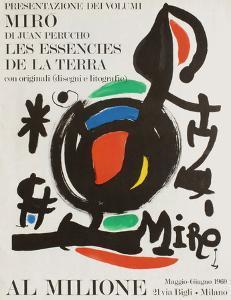 Expo 69 - Galerie Al Milione by Joan Miro