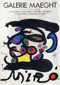 Expo 71 - Galerie Maeght by Joan Miro