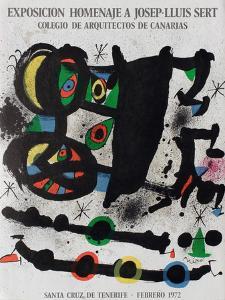 Expo 72 - Homenaje A Josep-Lluis Sert by Joan Miro