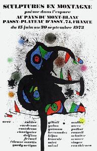 Expo 73 - Sculptures En Montagne by Joan Miro