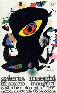 Expo 74 - Barcelona Inaugural by Joan Miro