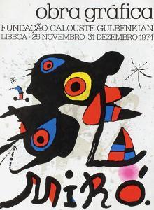Expo 74 - Fundaçao Calouste Gulbenkian by Joan Miro