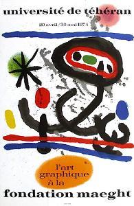 Expo 74 - Université De Téhéran by Joan Miro