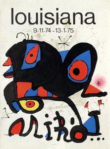 Expo 75 - Louisiana by Joan Miro