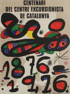 Expo 76 - Centenari del CC Barcelona by Joan Miro