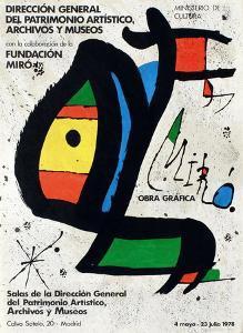 Expo 78 - Miro Obra Grafica Madrid by Joan Miro