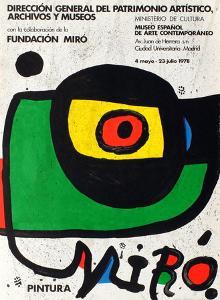 Expo 78 - Miro Pintura Madrid by Joan Miro
