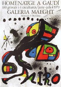 Expo 79 - Homenatge A Gaudi by Joan Miro