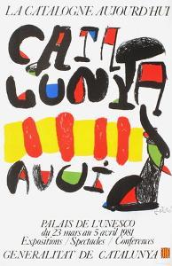 Expo 81 - La Catalogne aujourd'hui by Joan Miro