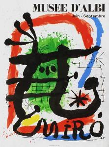 Expo 81 - Musée d'Albi by Joan Miro