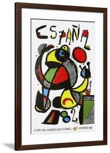 Expo 82 - Copa Del Mundo De Futbol by Joan Miro