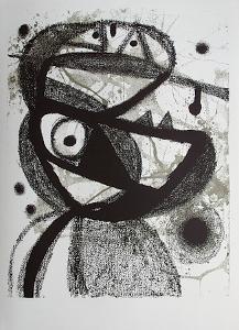 Expo 83 - Galerie Maeght Avl by Joan Miro