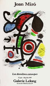Expo 87 - Galerie Lelong by Joan Miro
