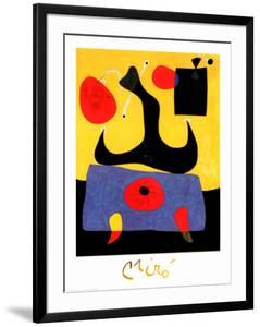 Femme Assise by Joan Miro