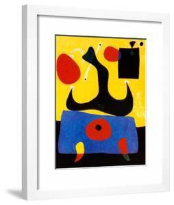 Femme Assise by Joan Miró