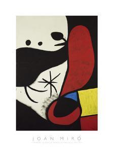 Femme et Oiseaux Dans un Paysage, 1970-1974 by Joan Miro