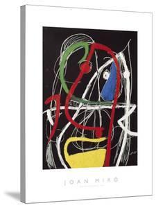 Femme, Oiseaux, 1976 by Joan Miro