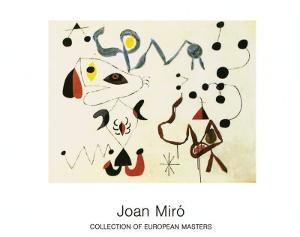 Femmes et Oiseau la Nuit, 1945 by Joan Miro