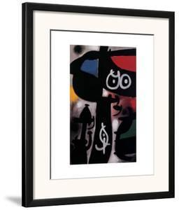 Frau und Vogel, c.1968 by Joan Miró