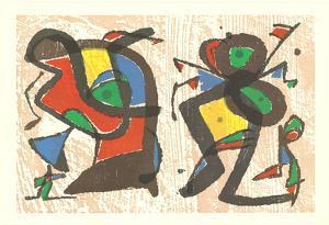 From Ceramics by Joan Miro