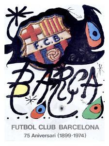 Futbol Club Barcelona by Joan Miro