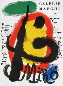 Galerie Maeght, Peintures Recentes by Joan Miro