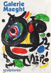 Galerie Maeght, Sculptures by Joan Miro