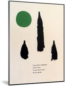 Illustrated Poems, Parler Seul by Joan Miro