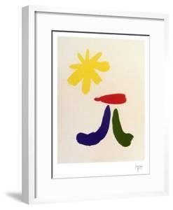Illustrated Poems-Parler Seul by Joan Miro