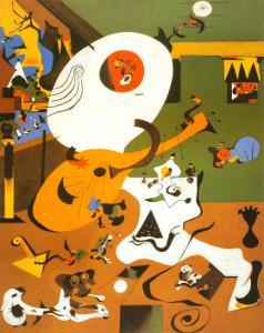 Interieur Hollandais I by Joan Miro