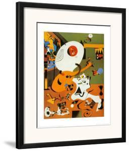 Interieur Hollandais I by Joan Miró