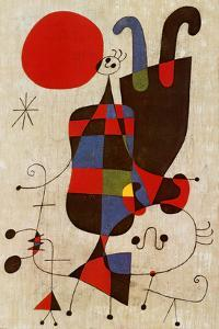 Inverted Personages by Joan Miro