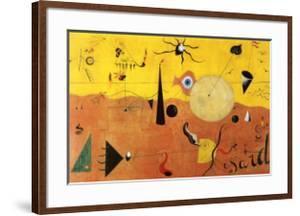Katalanische Landschaft by Joan Miro