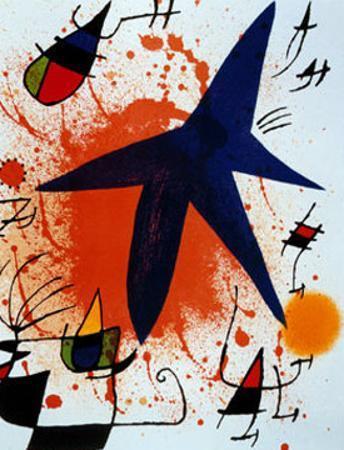 L'Etoile Bleu by Joan Miró