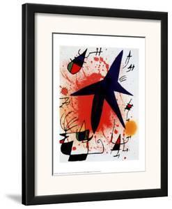 L'Etoile Bleue by Joan Miró