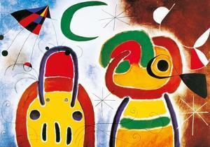 L'Oisauau Plumage Deploye by Joan Miro