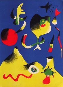 Lair by Joan Miro
