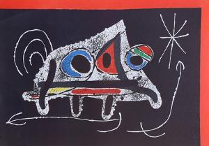 Le Lezard aux Plumes from Indelible Miro by Joan Miro