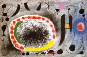 Liebeslied der Vogel by Joan Miro