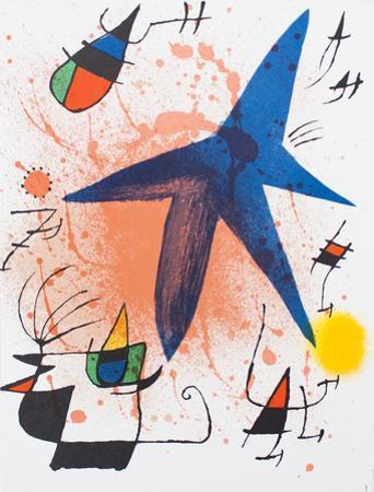 Litografia original I by Joan Miró