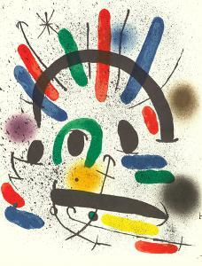 Litografia original II by Joan Miro