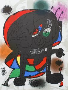 Litografia original III by Joan Miro