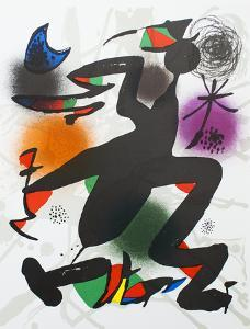 Litografia original IV by Joan Miro