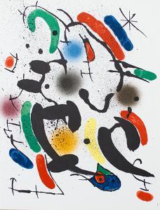 Litografia original VI by Joan Miro