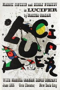 Lucifer in Uris Theater by Joan Miro