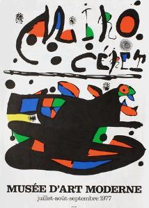 Miro Ceret by Joan Miro
