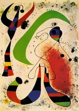 Night by Joan Miró